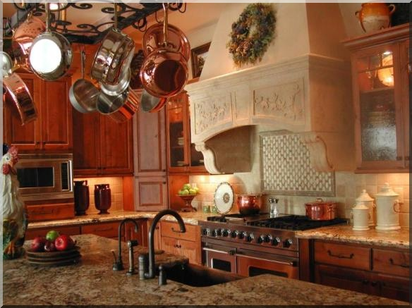 Impressive French Country Kitchen Decorating 584 x 437 · 97 kB · jpeg
