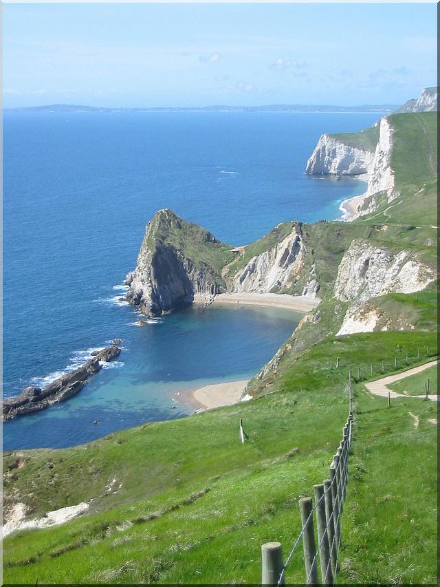 The beautiful Dorset Coastline