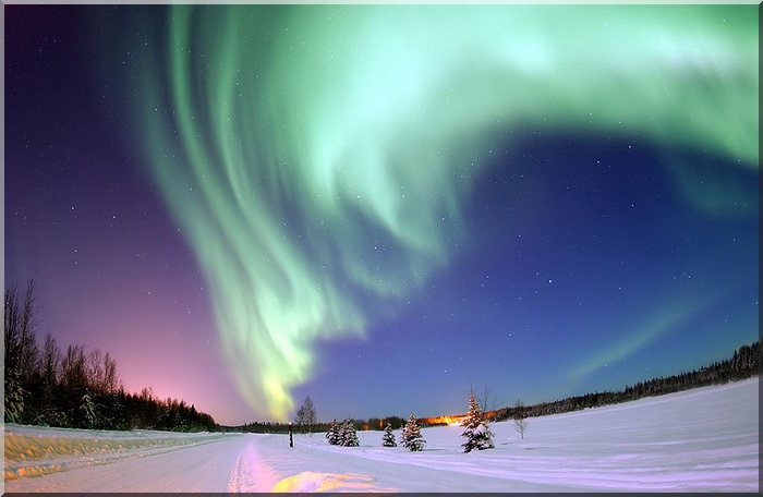 The Northern Lights Yukon Territory