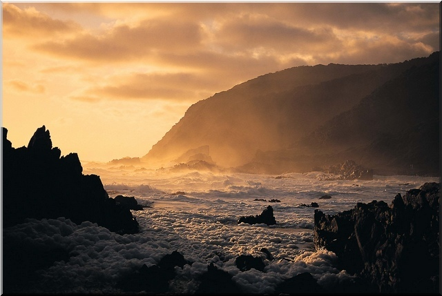 Wild Coast, South Africa at sunrise