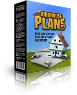 Bird house plans ebook