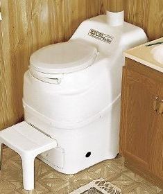 a composting toilet