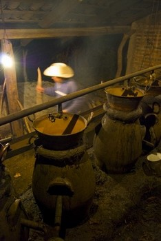 Mexican copper stills