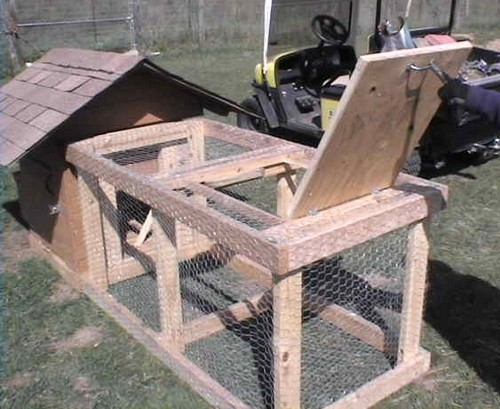 a chicken coop for a do-it-yourself-project