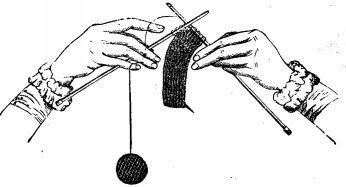 how to knit plain knitting