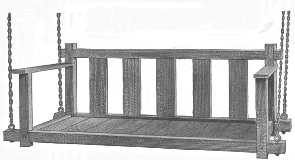 mission porch swing plans