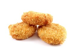 3 potato croquettes