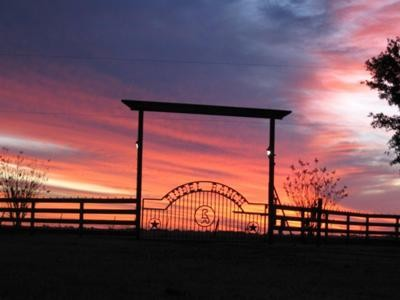 Sunset at the ranch!