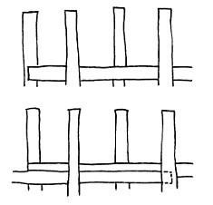 start-and-stop-weaving-technique
