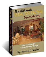 Tuscan home decor ebook